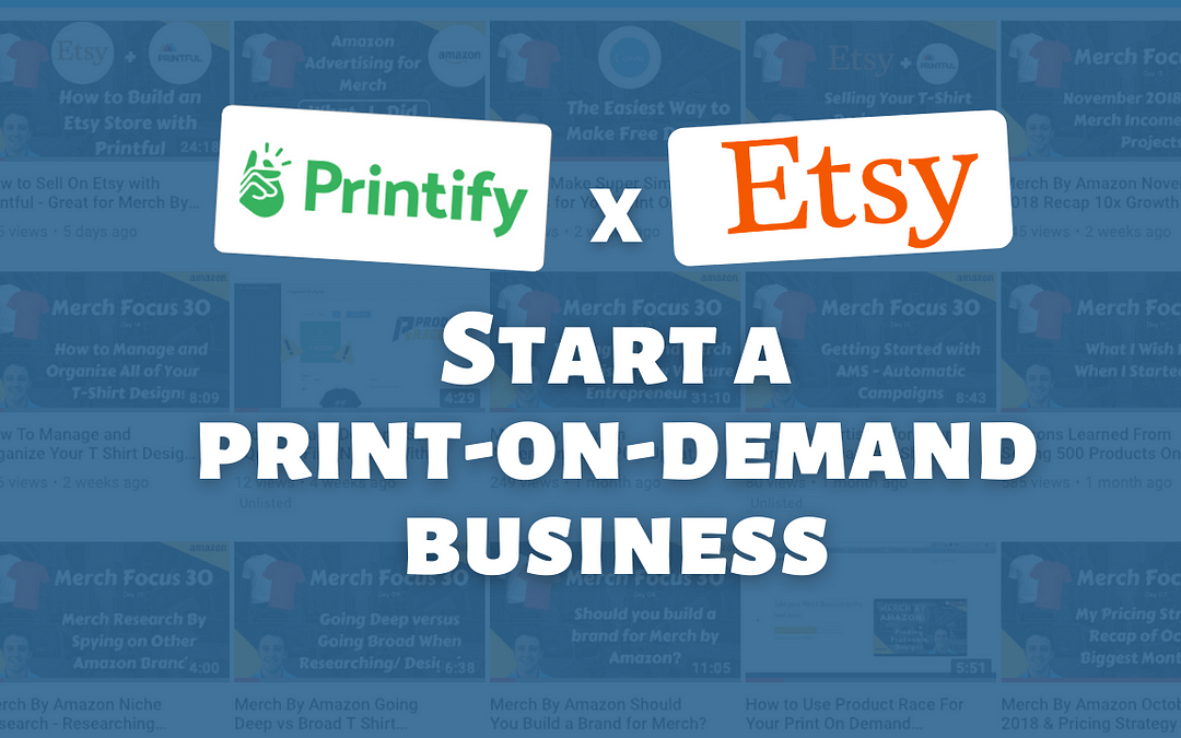 Print-On-Demand With Printify