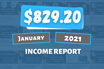 January 2021 Online Income Report