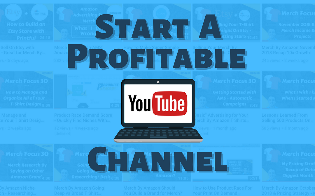 How to Make Money on YouTube (Start a Profitable Channel)