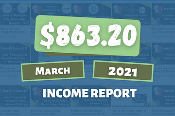 Online Income Report March 2021