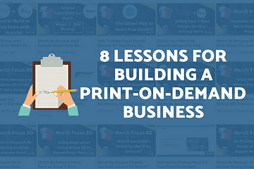 Start a Print On Demand Business - 8 Lessons