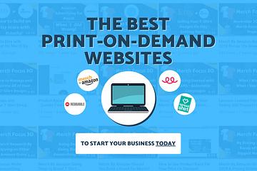 The Best Print On Demand Websites